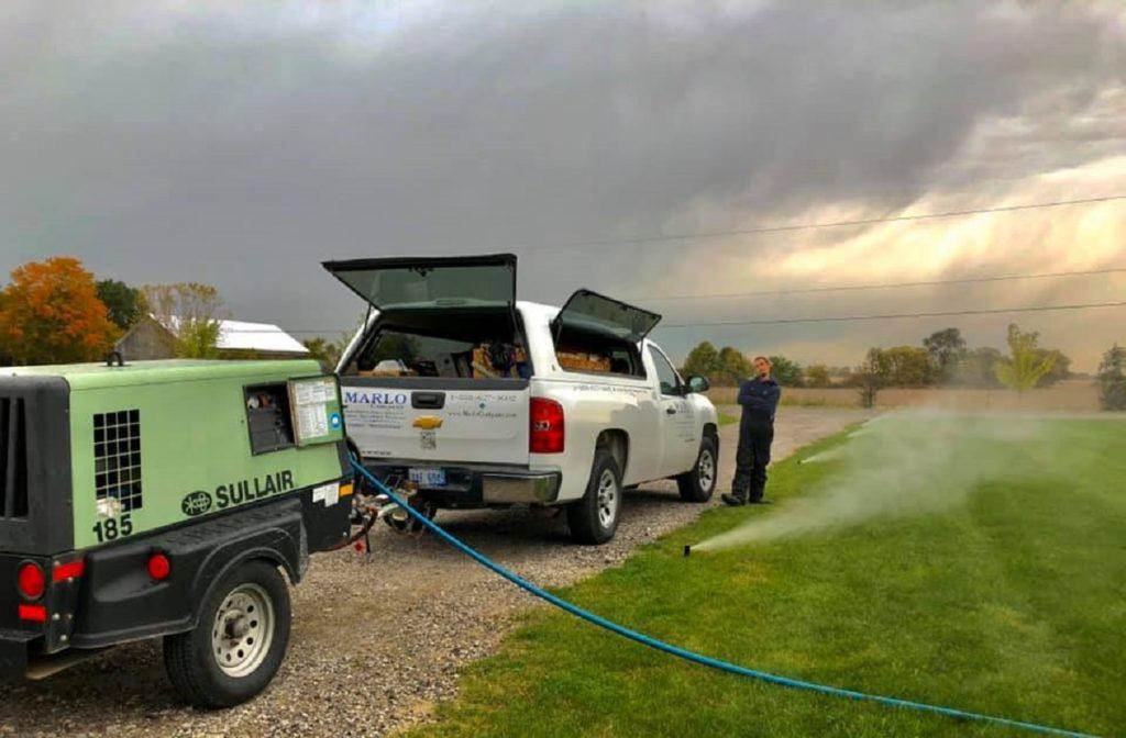 Irrigation Winterizations MI